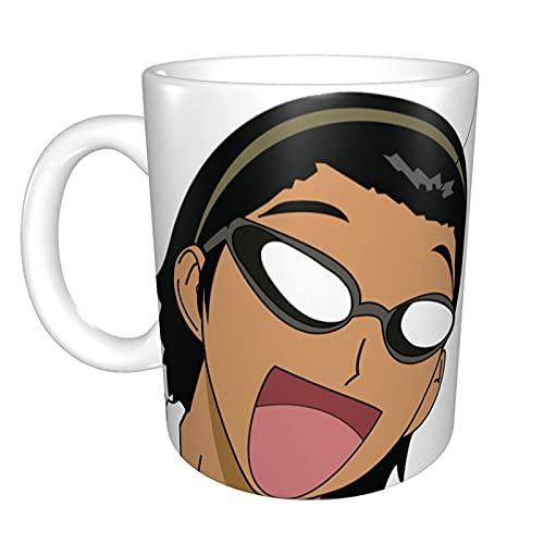 N\A Taza de café de cerámica Divertida única de Happy Harima, Taza de té de café de Oficina en casa para Regalo de Festival de Novedad