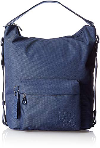 Mandarina Duck MD20, Borsa a tracolla Donna, Blu/Dress Blue, 10x21x28.5 cm (B x H x T)