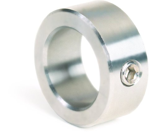 Climax Metal CRC-025-S Shaft Collar, One Piece, Set Screw Style, 316 Stainless Steel, 1/4