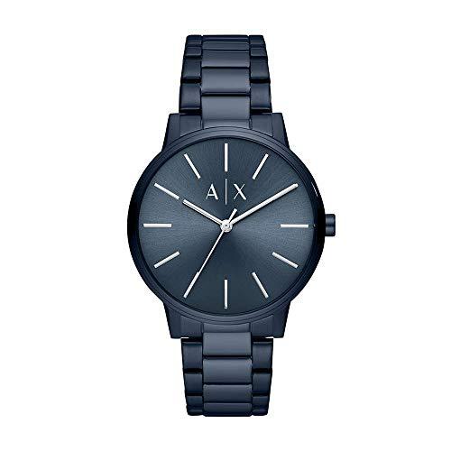 Armani Exchange Reloj Analógico para Hombre de Cuarzo con Correa en Acero Inoxidable AX2702