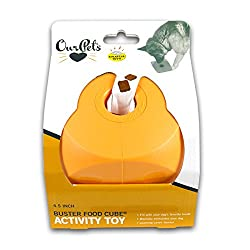 OurPets Buster Food Cube Interactive Dog Toy