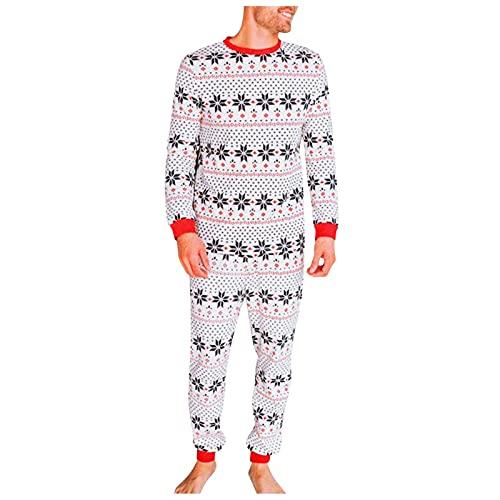 Weihnachts Pyjamas Men für Frauen Women für Mädchen Kids für Kinder Winter Weihnachts Nachtwäsche Nachthemd Hausanzug Set Schlafanzug Schlafanzüge Weihnachts Schlafshirt Sleepwear PJs Familie