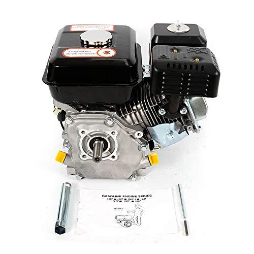 Motor de kart, 7,5 CV, 4 tiempos, motor de gasolina, protección contra falta de aceite.