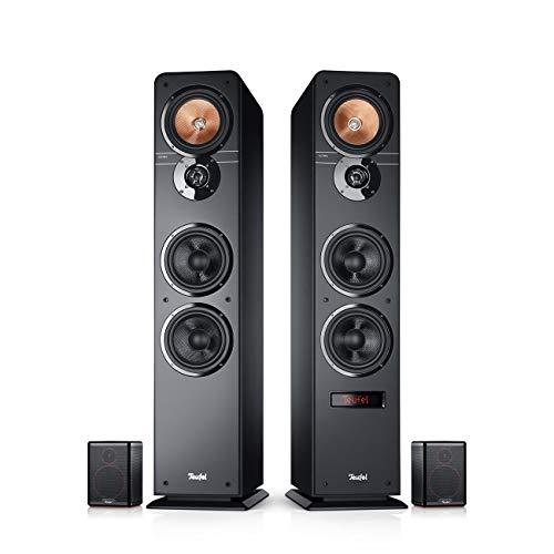 Teufel Ultima 40 Aktiv Surround 4.0-Set Schwarz Heimkino Lautsprecher 5.1 Soundanlage Kino Raumklang Surround Subwoofer Movie High-End HiFi Speaker