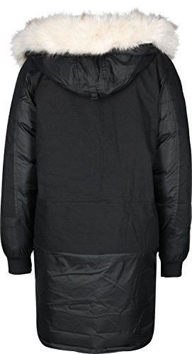 adidas Damen Long Bomber Jacke, Black, 36