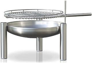 Edelstahl Grill, Durchmesser 60 cm, RICON, deutsche Herstellung