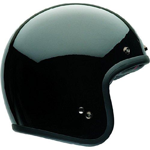 Bell Casco Custom 500 Nero Solido, Nero, Taglia M