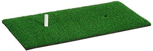 LONGRIDGE Deluxe Golf Übungsmatte grün grün 1x2 Inch