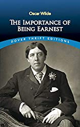 "Cover of ""The Importance of Being Earnest."""
