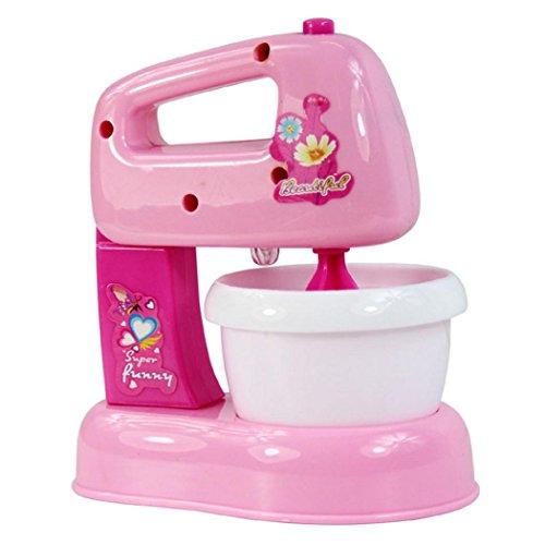 Bescita Baby Entwicklungs Pädagogisches Mixer Pretend Spiel Haushaltsgeräte Küche Simulation Spielzeug Kind Geschenk (E)