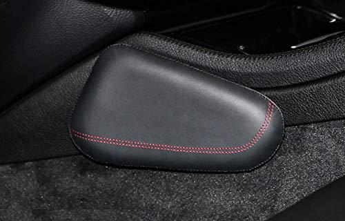 Leather Auto Center Console Knee Cushion,Car Side Cushion OERTUFU Car Knee Pad Soft Pad Leather Car Door Armrest Driver Arm Protective Pad Pillow Car Interior Accessories