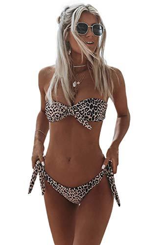 Snaked Cat - Conjunto bikini sexy mujer estampado