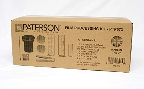 Paterson - Kit de revelado fotográfico