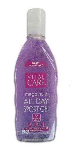 Vital Care Mega Hold Spiking Hair Gel Super Hold All Day Non...