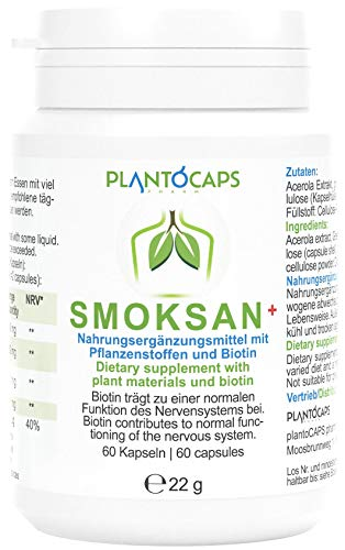 plantoCAPS® SMOKSAN®+ Kapseln | Monatspackung