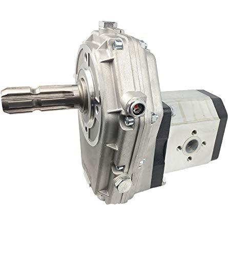 Hydromot- Zapfwellengetriebe, Zapfwellenstummel 1 3/8'', Übersetzungsverhältnis: 1:3,8. Baugruppe 3, Schluckvolumen 56ccm