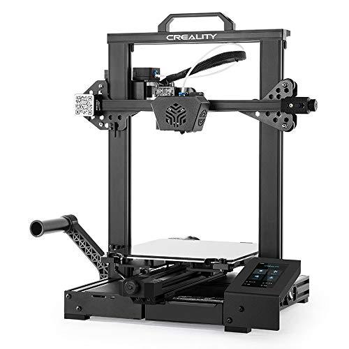 Impresora 3D oficial Creality CR-6 SE sin nivelación con placa base silenciosa de 32 bits, nivelación automática de la cama, extrusora mejorada Build Volumn 235x235x250MM