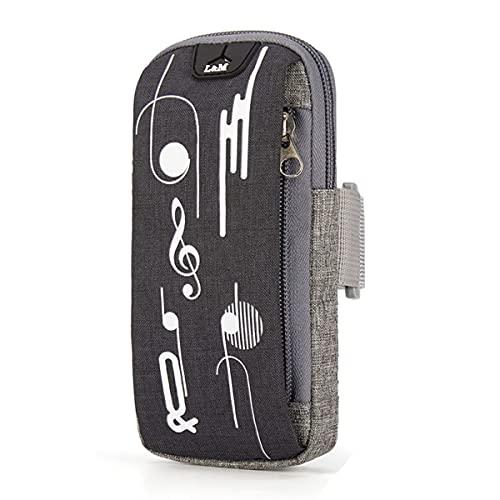 Brazalete deportivo para móvil de carreras, para correr, correr, hacer deporte, para el teléfono móvil, morado,
