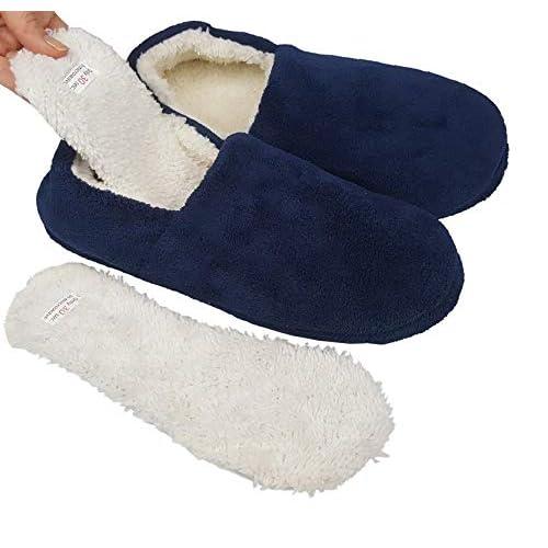 9656251a01da Snookiz Microwaveable Heated Slippers for Women