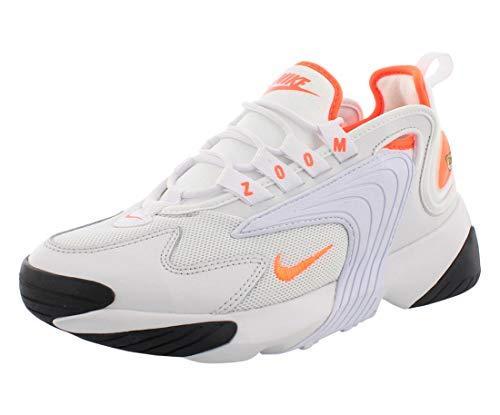 Nike Damen WMNS Zoom 2k Leichtathletikschuhe, Mehrfarbig (Platinum Tint/Hyper Crimson/White/Black 2), 40 EU