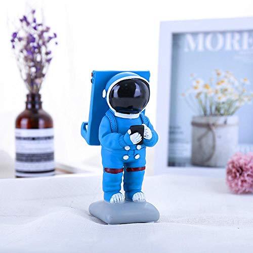 YAOJII Hars Space Astronaut telefoonhouder figuren miniaturen ambachtelijk desktop huis decoratie accessoire
