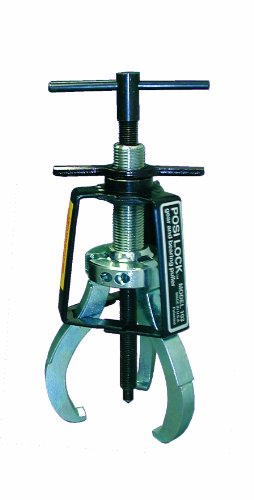Posi Lock 102 Manual Puller, 3 Jaws, 1 ton Capacity, 2-1/4' Reach, 1/4' - 3-1/4' Spread Range, 5-1/2' Overall Length