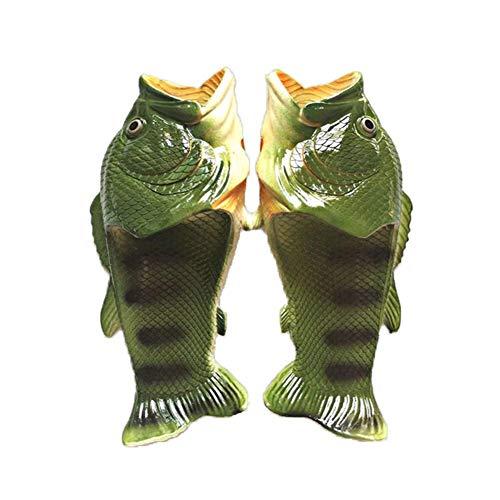 NOLOGO Zapatos De Pescado Fish Flops Sandalias Unisex Chanclas Zapatillas, Zapatos para Piscina Playa Hombres, Mujeres Y Niños Plataforma Ocasional de Moda Zapatillas Abrir-Punt