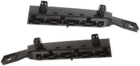 Bumper Bracket compatible with Nissan Versa 07-12 Front Right and Left Side Side Plastic Hatchback/(Sedan 07-11)