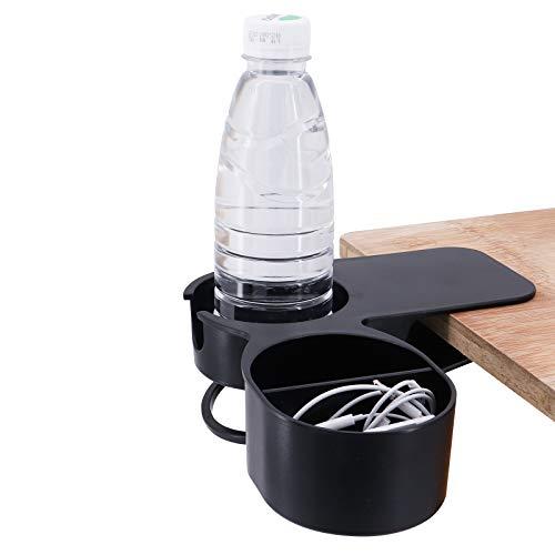 ShawFly Trinkbecherhalter Clip Verbesserte Version des kreativen Bürobecherhalters Home Car Office Tisch Schreibtisch Stuhl Kanten Cupholder für Wassergetränk Getränke Soda Kaffeebecher