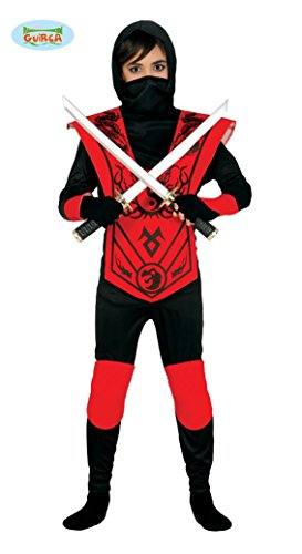 Red Ninja costumes Enfants 7-9 ans