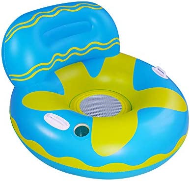 Elitoky Inflatable Lounger Pool Float Fun Beach Floaties Chair Swimming Party Water Float Toys product image