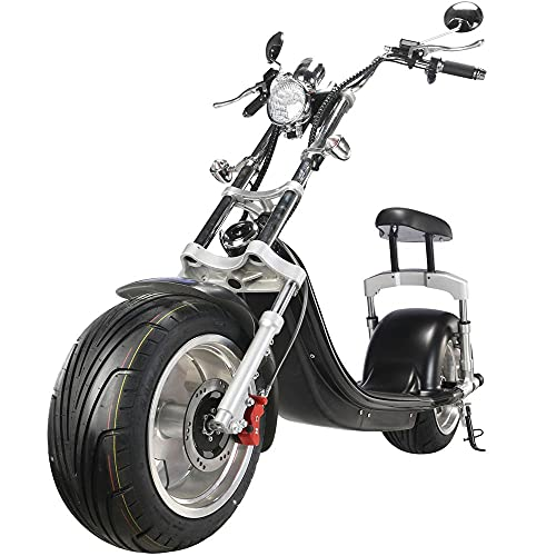 TITLE_TOXOZERS Fat Tire Scooter For Adults