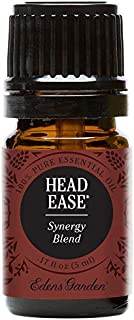 Edens Garden Head Ease Essential Oil Synergy Blend, 100% Pure Therapeutic Grade (Highest Quality Aromatherapy Oils- Headache & Massage), 5 ml
