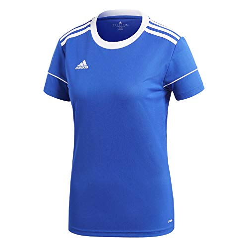 adidas Squad 17 JSY W Camiseta, Mujer, Azul (Azufue/Blanco), L