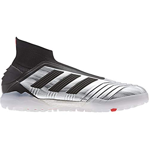 adidas Predator 19+ TF SILVMT,CBLACK,HIRERE (Men's) (11 Men's US) Silver