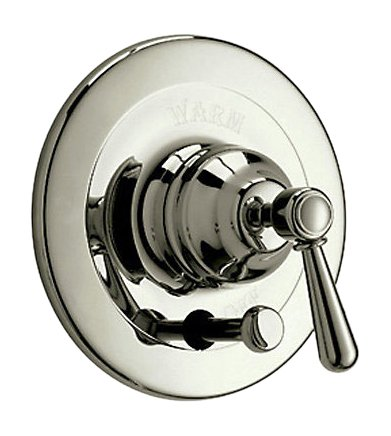 Rohl ARB2400LMSTN Arb2400Lm Verona Shower Valve Trim Only with Metal Lever Handle, Satin Nickel