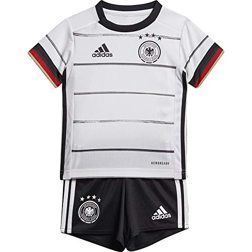 adidas Kinder DFB H BABYKIT Football Set, Black, 1218M