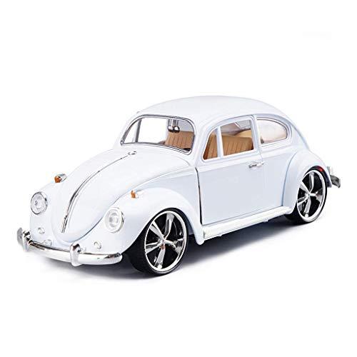 Yppss Modelo del Coche / 01:18 Simulación Die Casting de aleación Modelo/Adecuado for su Volkswagen Escarabajo Clásico/Coches de Juguete/decoración Eternal