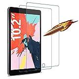 Agedate Film de protection d'écran en verre trempé pour iPad 10,2 2019/iPad Air 3/iPad Pro 10,5,...