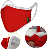 Christmas Unisex Cloth Washable Reusable Cover - Cotton 3-Layer Warm cloth Cover