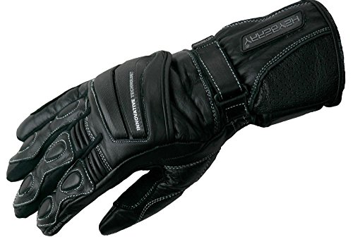 Heyberry Leder Motorrad Handschuhe Motorradhandschuhe schwarz Gr. L