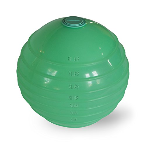 Flat Belly Ball Maria Kang - Naturally Relieves Bloating, Cramping Indigestion - Detox - 2-8 lb Portable Adjustable Medicine Ball Fitness - Sculpt Your Core