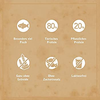 Venandi Animal Nourriture Sèche Package Test 1 Poulet/Bœuf/Saumon/Agneau sans Céréale 6 pour Chat