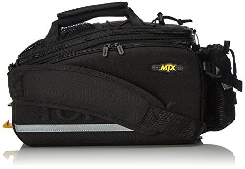 Topeak Unisex-Adult Rahmentasche MTX TurnkBag DX Gepäckträgertasche Fahrradtasche Mit Trinkflaschenhalter, Black, 36 x 25 x 21.5-29 cm