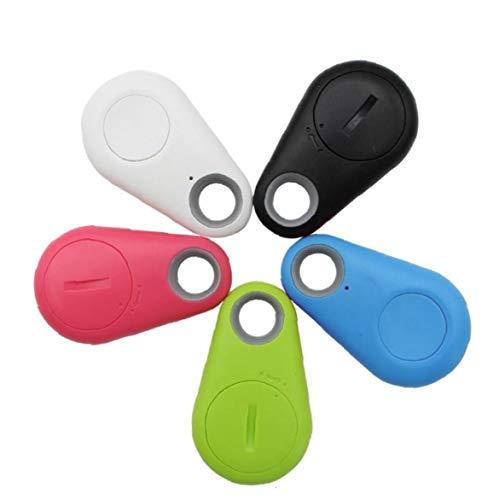 KHHGTYFYTFTY Bluetooth 4.0 Mobile Tracker Key Wireless Mini Detector Anti-perdida Selfie Obturador para el posicionamiento de Animales, niños, Claves, Carteras, Coches