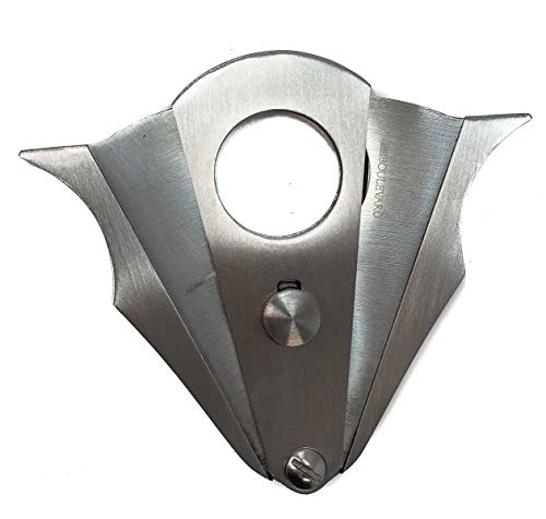 Cigar Boulevard Cigar Cutter Double Guillotine Action, Stainless Steel Blades
