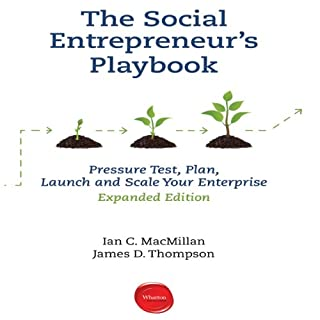 The Social Entrepreneur's Playbook, Expanded Edition audiobook cover art