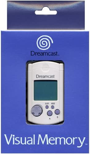 Sega Dreamcast Memory Card - VMU Unit