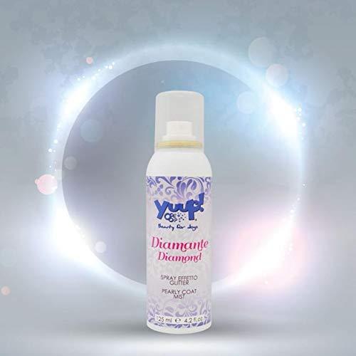 YUUP! DIAMANTE spray effetto Glitter Pioggia di finissime perle multi colore per una luce speciale dal tocco glamour e a lunga durata. Confezione: 125 ml