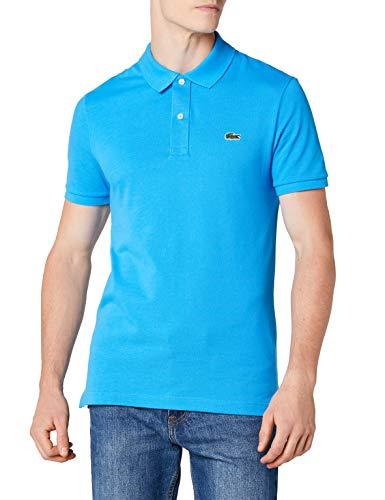 Lacoste PH4012, T-shirt Polo Uomo, Blu (Ibiza Ptv), X-Small (Taglia Produttore: 2)